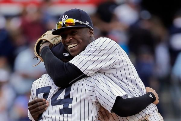 The New York Yankees got to their hotel in Baltimore around 3 a.m. after beating the Boston Red Sox in a Sunday night game.