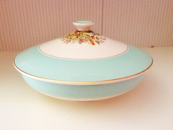 Crown ducal / crown ducal server / vintage tureen / crown