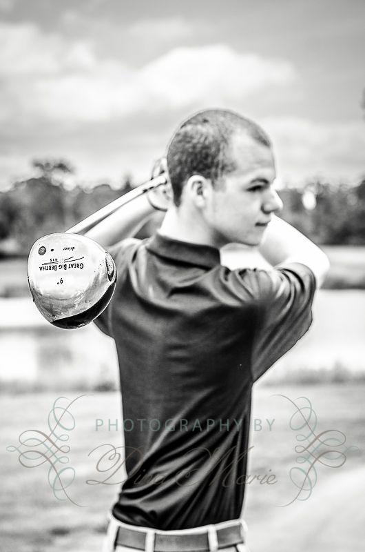 Senior Guy Golf Pic