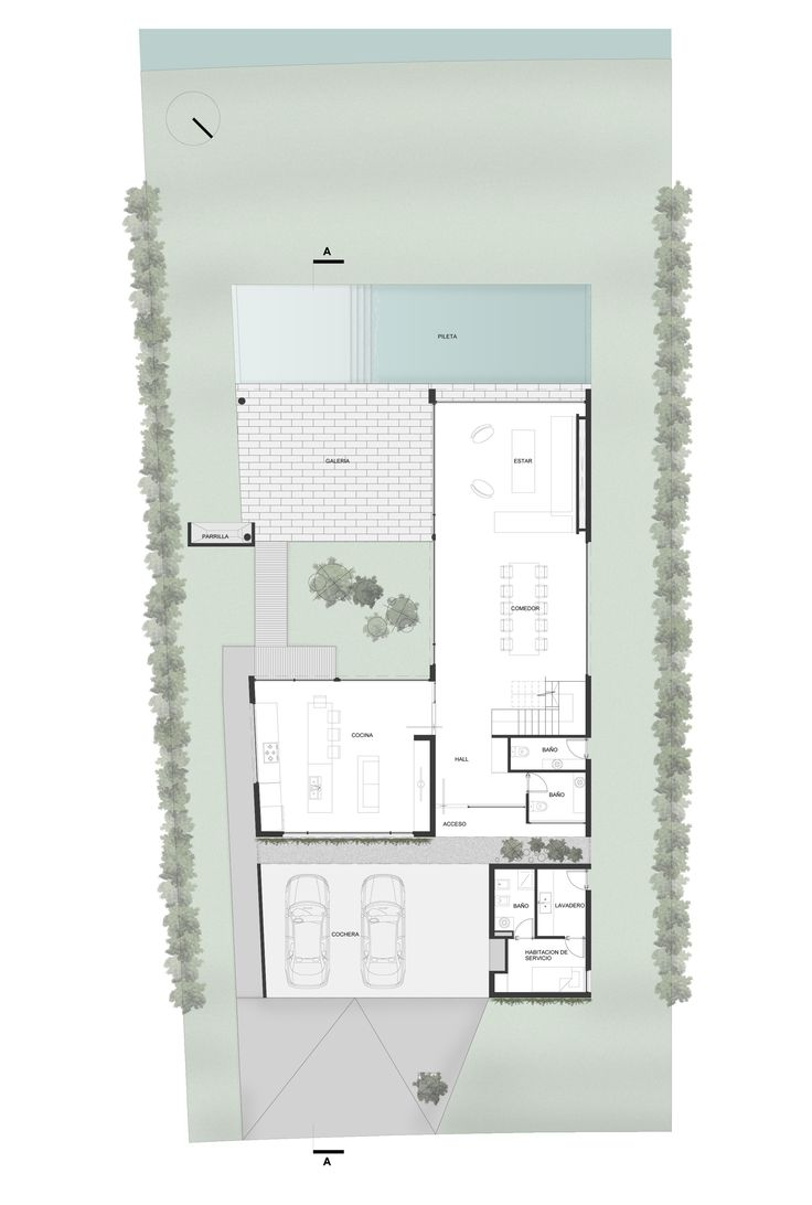Gallery of House Ef / Fritz + Fritz Arquitectos - 11