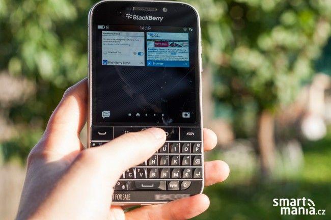 BlackBerry Classic: Zpátky ke kořenům (exkluzivní první pohled) - SMARTmania.cz