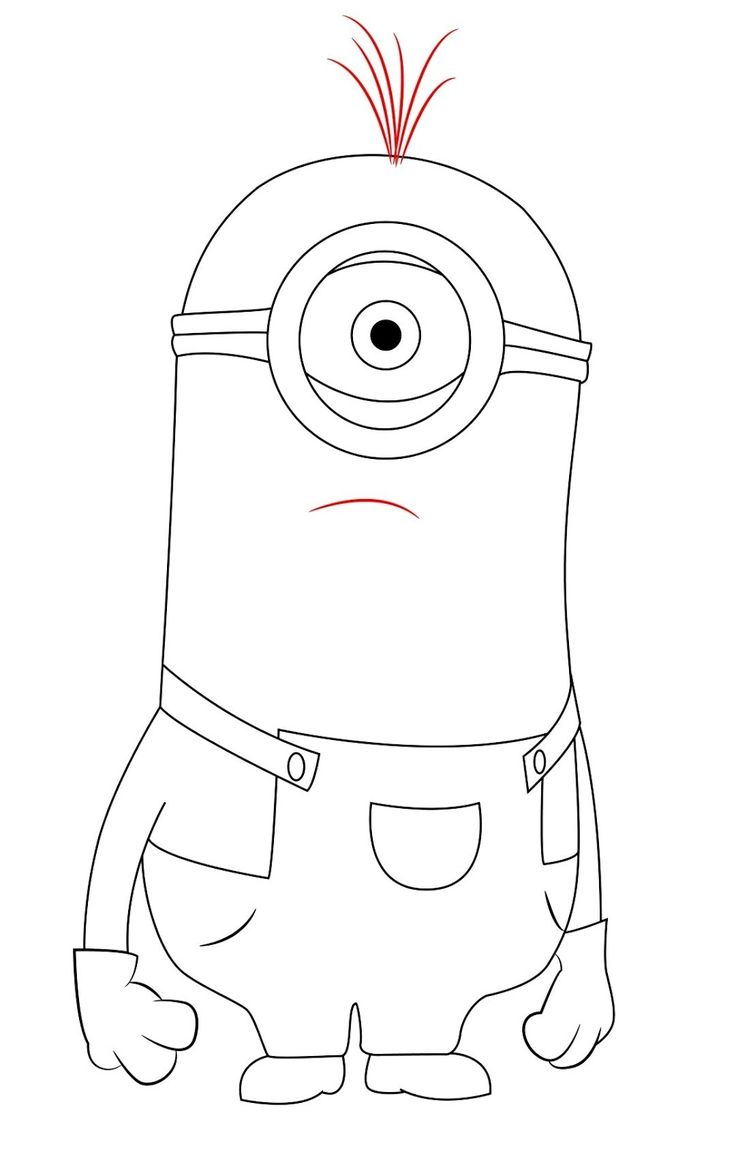 10 Best Minions Coloring Pages Images On Pinterest