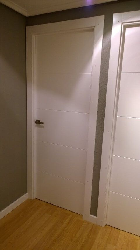 M s de 1000 ideas sobre puertas blancas en pinterest for Puertas blancas paredes grises