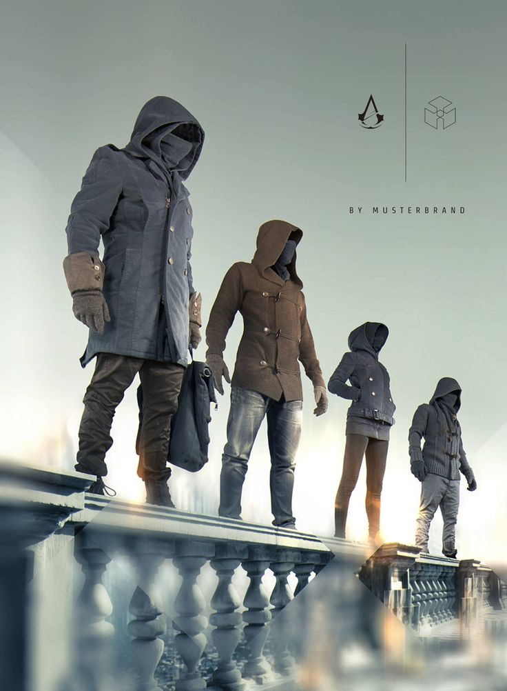 For the stylish vigilante. Musterbrand's Assassin's Creed collection.