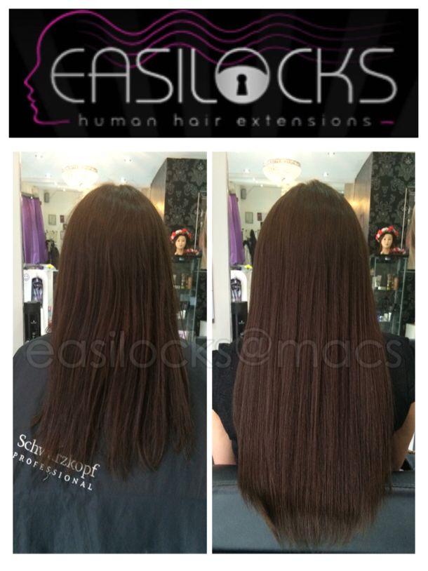 Easilocks extensions at Macs Glasgow #hair #extensions #easilocks #macs #glasgow #hair & #beauty #salon 01413575511