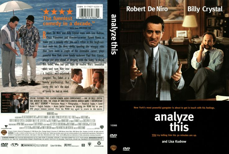 Analyze This - Robert De Niro / Billy Cristal