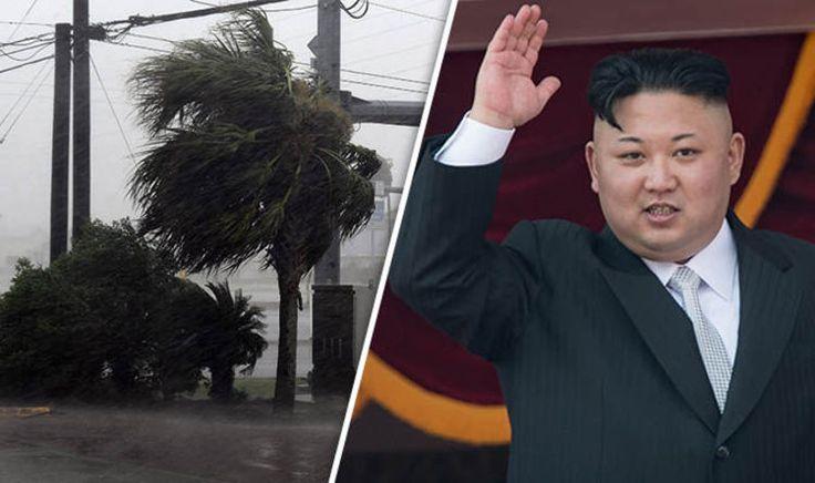 NORTH KOREA NEWS: Kim Jong-un vows to 'bury US underwater' in sick Hurricane Harvey taunt