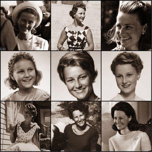 R4R Photo Spotlight: Before They Were Royals Sonja Haraldsen, now Queen Sonja of Norway