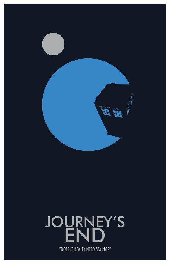 (3 of many) Doctor Who Poster: Journey's End 11x17 Science by TheGeekerie (on Etsy) $18.00