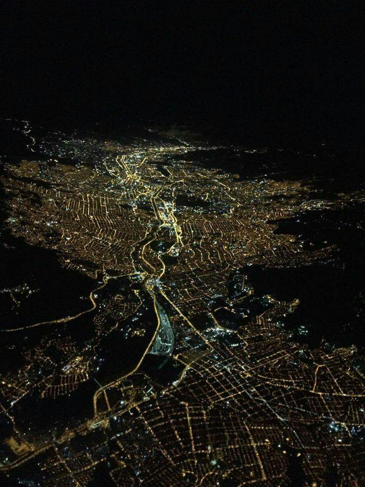 Medellín vista desde el cielo.