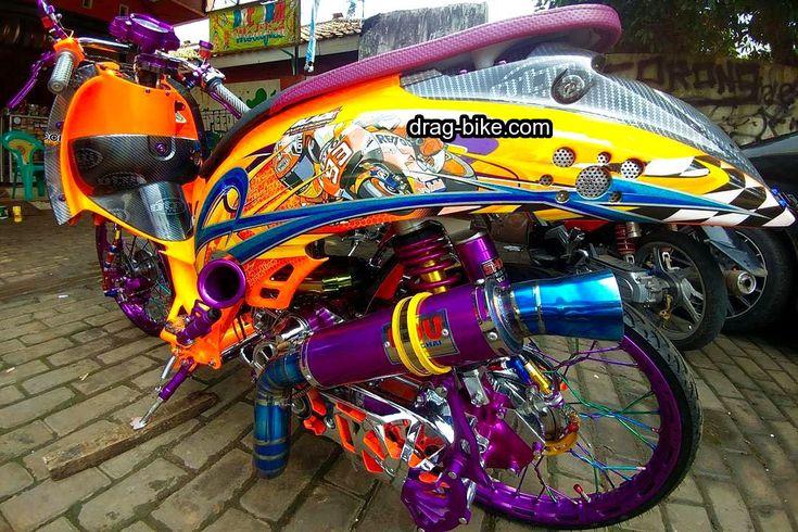 40 Foto Gambar Modifikasi Scoopy Thailook Simple Jari Jari Velg 17 Drag Bike Com Honda Mobil Sport Mobil