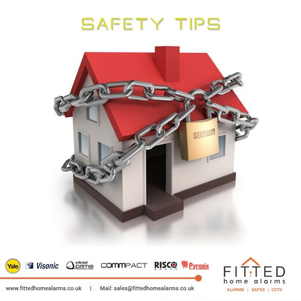 Safety tips  Phone: 0800 193 8727, 020 3137 8727  Mail: sales@fittedhomealarms.co.uk • TEST ALARM SYSTEM ONCE A WEEK • Test smoke detectors weekly • Agree on a specific meeting place outside your house or business in case of fire • Use timers to turn lights ON or OFF daily if the premises are unoccupied • Lock doors and windows • If you have a security system, Electric Power and Telephone service MUST REMAIN ON at all times and cannot be put on Winter Service or shut off • If you do