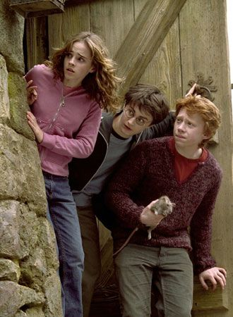 ハリー・ポッターとアズカバンの囚人で不安げなハーマイオニー・グレンジャー
