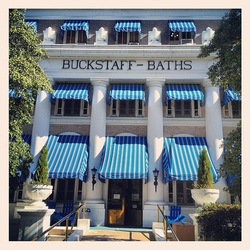 """Hot Springs Arkansas National Park This is the one where we had our """"bath."""""""