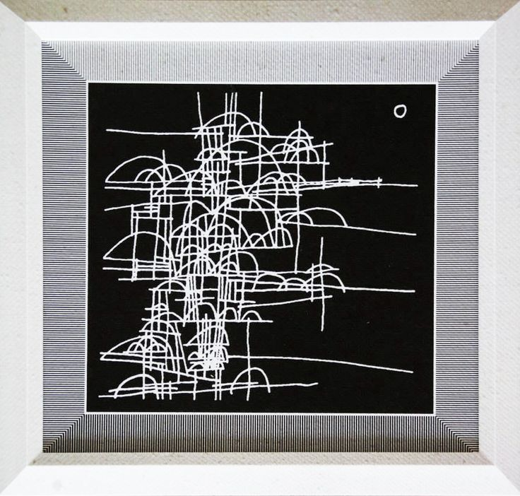 Cuadro Código Ch02-3 46 x 46 cm $8.000