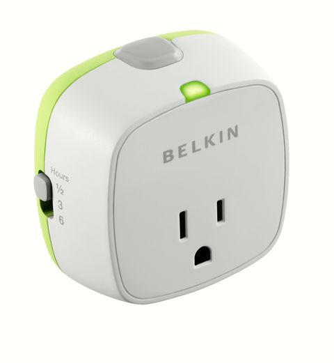 an outlet that automatically turns off power once your device has been charged to save energy. only $10 on Amazon!
