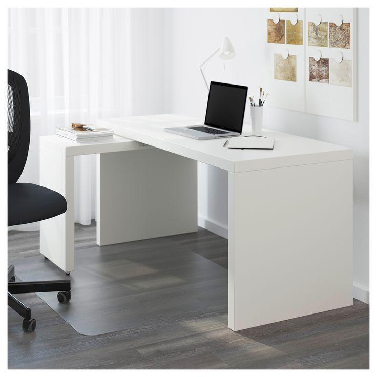 Eckschreibtisch weiß ikea  Die besten 25+ Ikea malm schreibtisch Ideen auf Pinterest | Ikea ...