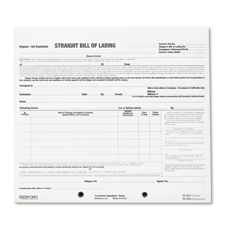 40 best Shipping And Export Forms images on Pinterest Bill of - bill of lading form