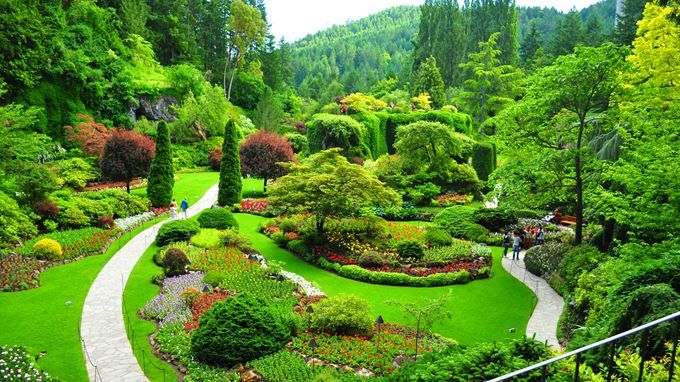 Fly 'n Dine to The Butchart Gardens via @Harbour Air Seaplanes #harbourair
