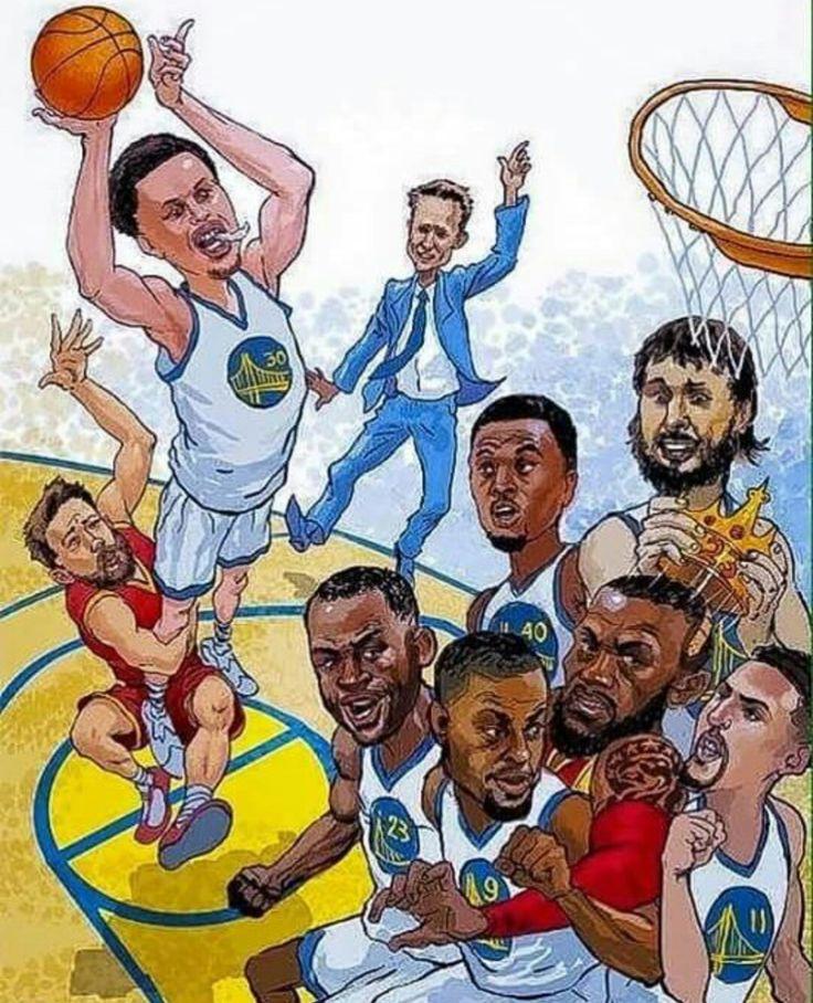 Баскетболисты рисунок прикольный