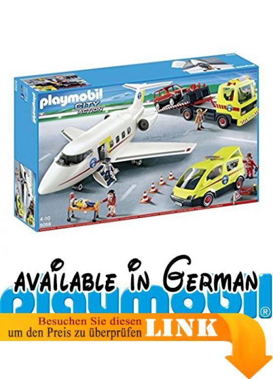 Playmobil® 5059 Bergrettung Mega-Set (Flugzeug, Van, Abschlepp-Truck). Playmobil 5059 Bergrettung Mega-Set. Alter: 4 - 10 Jahre #Toy #TOYS_AND_GAMES