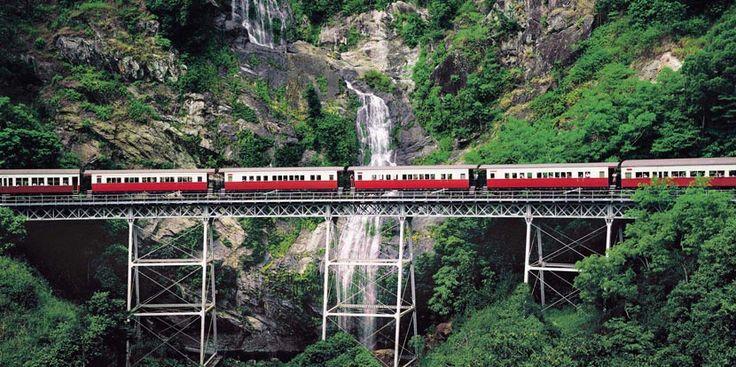 Conoce el Cañón Barron con el tren escénico Kuranda - http://www.absolutaustralia.com/18652-2/