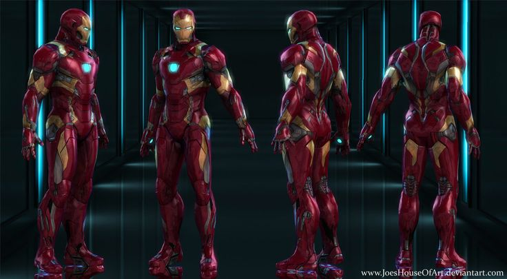 Iron Man Mark 46 for XNALara / XPS by JoesHouseOfArt on DeviantArt
