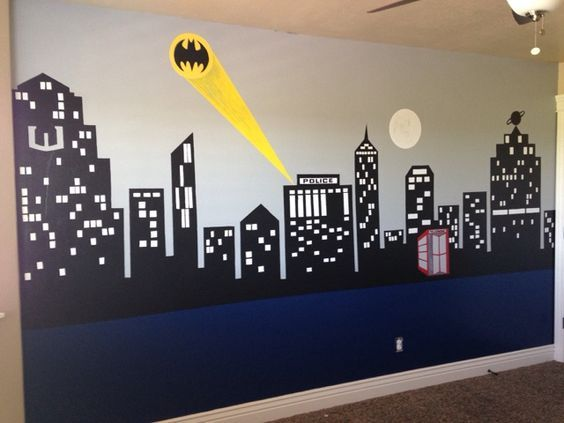Batman vs Superman Bedroom