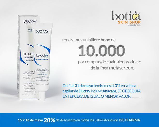 Promocion en la Skin Shop