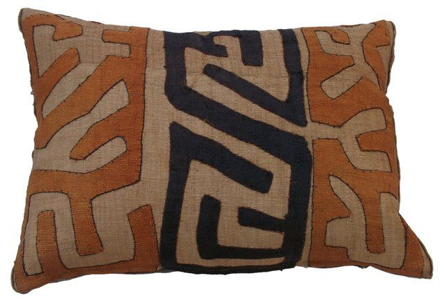 African Tribal Kuba Pillow Pillows Pinterest