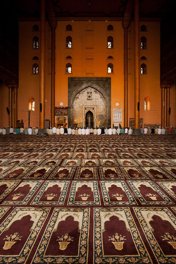 Jamia Masjid, Srinagar's Main Mosque in Kashmir India