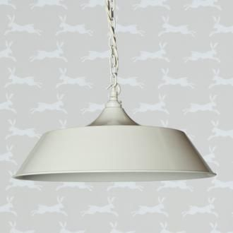 The Balmoral #Pendant, made by Jim Lawrence, in our new #Clay finish would look fantastic in a chic, #retro style #kitchen or #dining room.