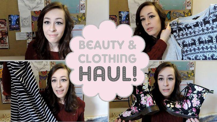 Beauty & Clothing Haul