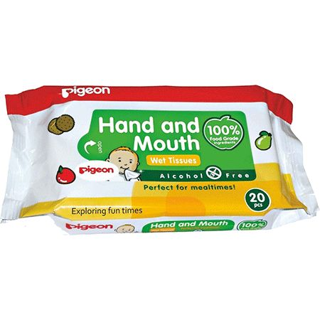 Pigeon Baby Wipes Hand & Mouth Buy Online at lowest price in India: BigChemist.com