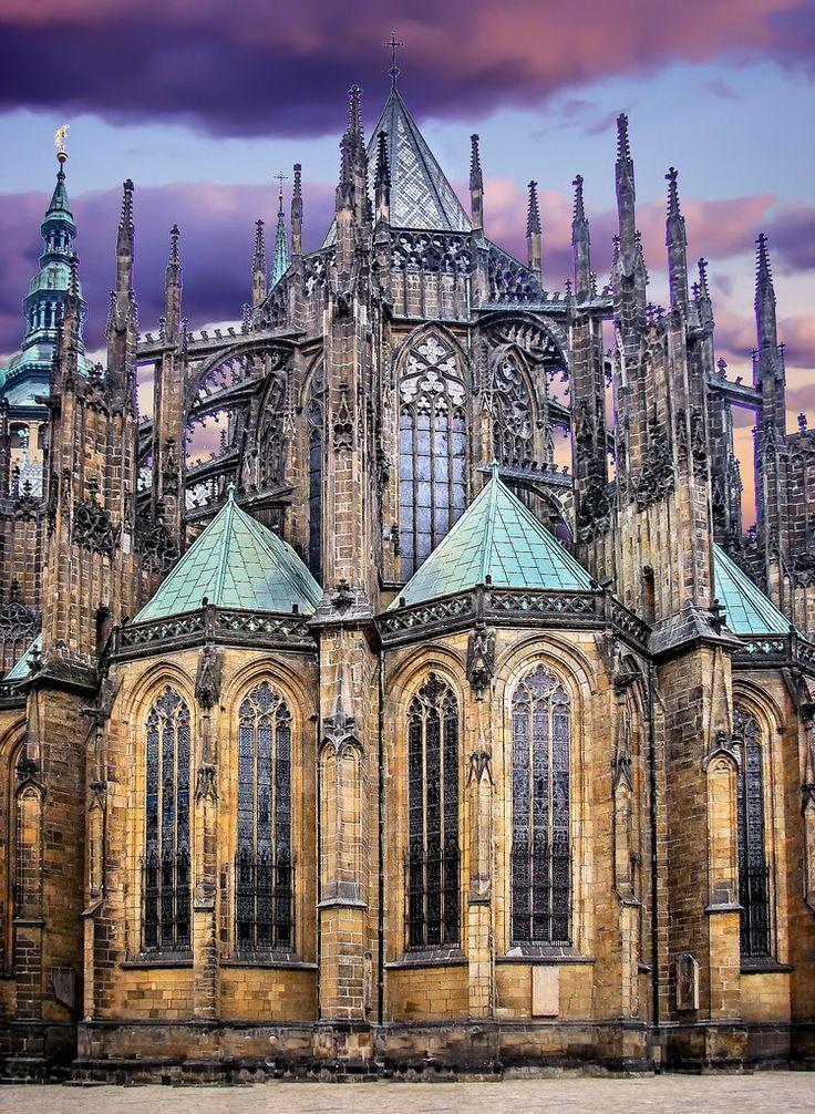 Prague Cathedral, Czech Republic