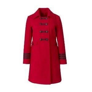 Jeffrey Paula Military Style Coat