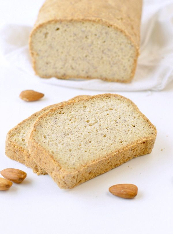 Keto Almond Flour Bread Is An Easy Low Carb Bread Loaf Recipe With