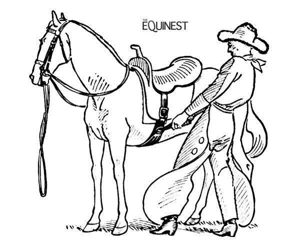 cowboy and indian coloring pages - photo#25