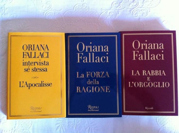 Oriana Fallaci, La Trilogia