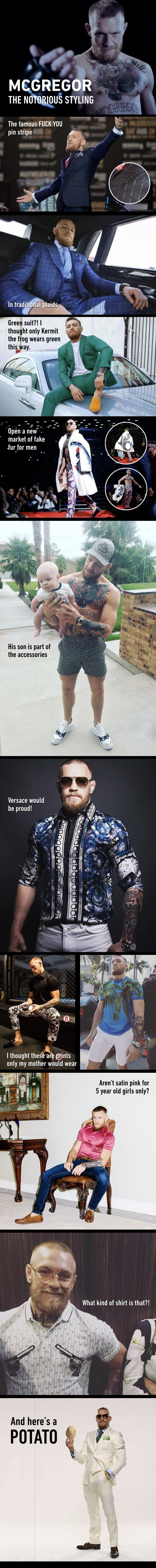 Conor McGregor's Notorious Styling
