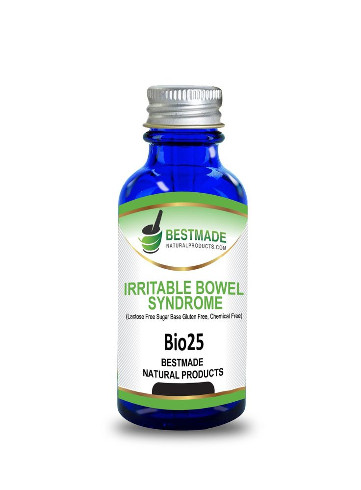 IBS Relief Fast Relief of Stomach Acid and Gas and Indigestion Natural Remedy (Bio25) Lactose Free – Sugar Base