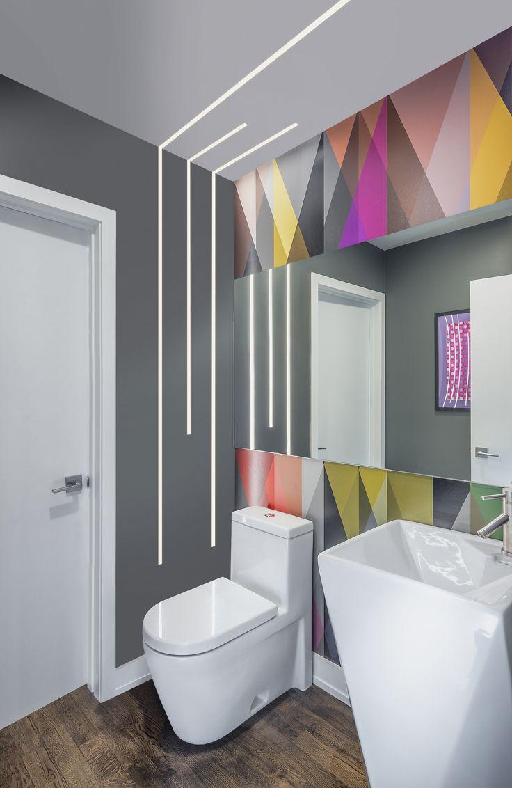 Ultra Modern Recessed Leds Modern Led Lighting For The Bathroom Truline 5a