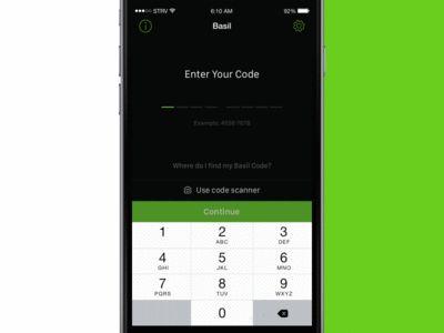 Basil App - Bill Details
