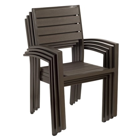 I pinned this Malmo Indoor/Outdoor Dining Chair (Set of 4) from the Fuchsia & Faux Bois event at Joss and Main!