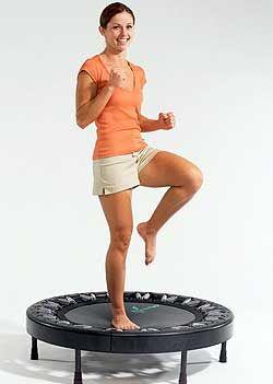 Fun Rebounder Exercises