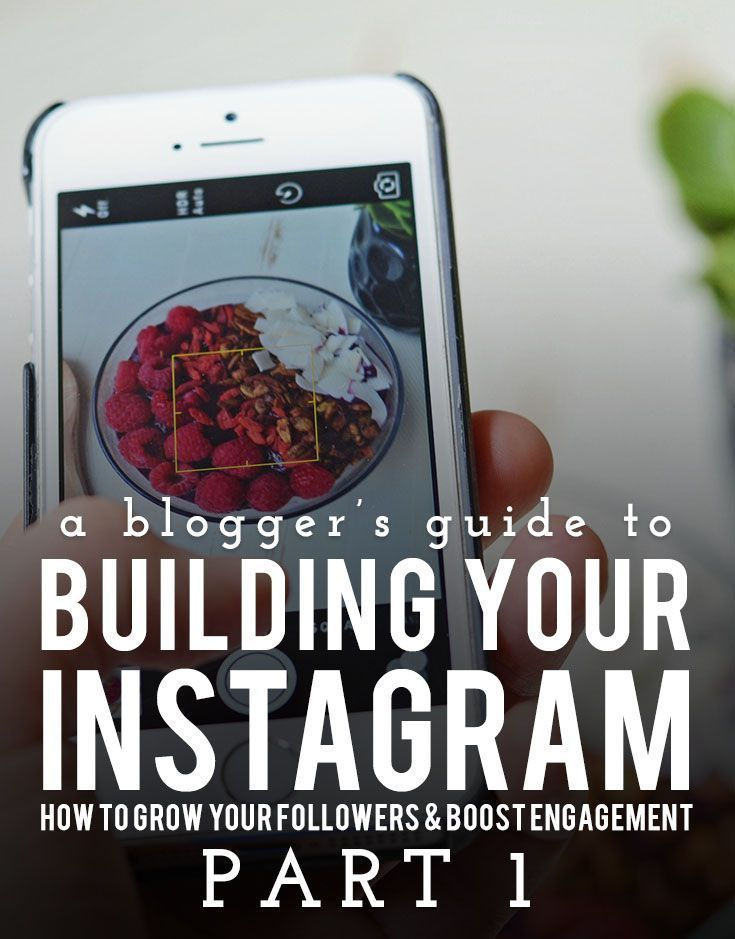 A Blogger's Guide to Building Your Instagram: Part 1   instagram tips   social media tips