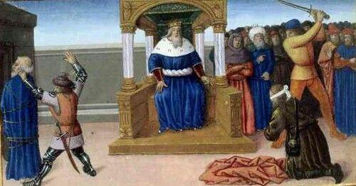 Ejecución de Santiago Apostol.