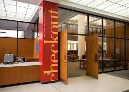 Image result for library signage design