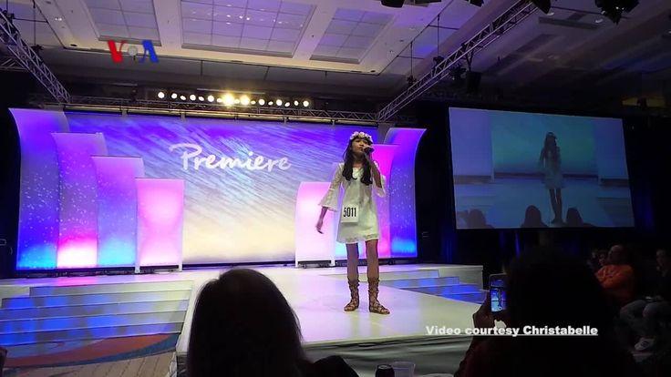 Aktris cilik Indonesia, Christabelle Grace Marbun, mencetak prestasi internasional dalam ajang Premiere Global Performing Arts di Orlando, Florida. Ini pertama kalinya Abelle mendapat sorotan global. Versi awal dipublikasikan pada - http://www.voaindonesia.com/a/voa-trending-topic-aktris-cilik-christabelle-marbun/3769563.html