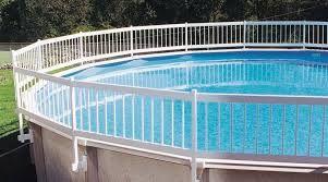Résultats de recherche d'images pour «cloture piscine semi creusée»